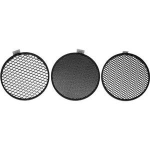 Hensel 3 Piece 7 inch Honeycomb Grid Set: Picture 1 regular