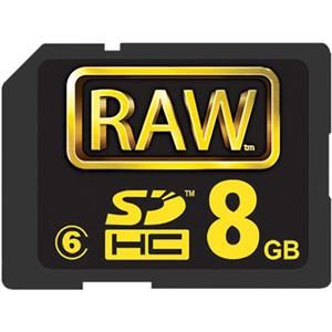 Hoodman Raw Hc 150 Spd 8gb #6 Sd Card: Picture 1 regular
