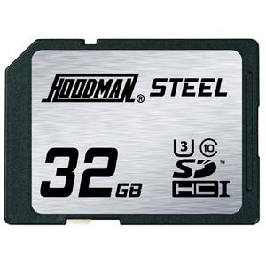 Hoodman 32GB RAW STEEL SDHC Memory Card: Picture 1 regular