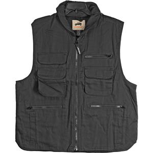 CampCo Humvee 100% Cotton Ranger Vest - Black - Medium: Picture 1 regular