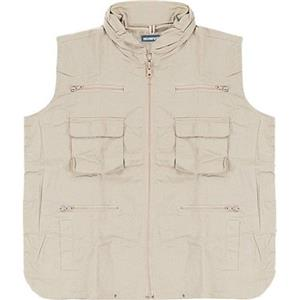 CampCo Humvee 100% Cotton Ranger Vest - Khaki - Large: Picture 1 regular