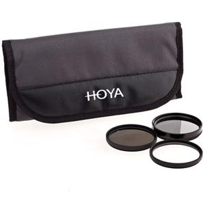 Hoya 43mm Digital Filter Kit with 3 Filters and Pouch: Picture 1 regular
