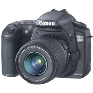Canon EOS-20D Digital 8.5mp SLR Camera Body Kit...: Picture 1 regular