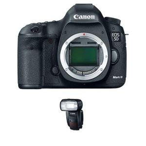 Canon EOS-5D Mark III Digital SLR Camera Body 5260B002 F1