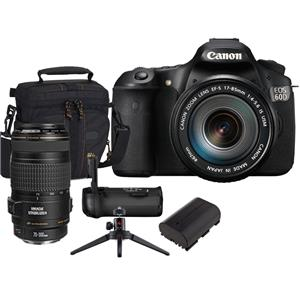 Canon EOS 60D Digital SLR Camera / Lens Kit 4460B004 L13