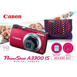 Canon Powershot A3300 IS Digital Camera Deluxe ...: Picture 1 regular