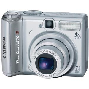 Canon Powershot A570 IS Digital Camera, 7.1 Meg...: Picture 1 regular