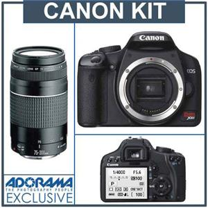 "Canon Digital Rebel XSi SLR ""Black"" C...: Picture 1 regular"