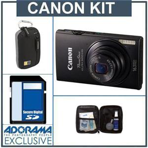 Canon PowerShot ELPH 320 HS Digital Camera Kit 6024B001 KA