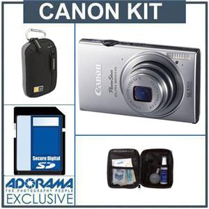 Canon PowerShot ELPH 320 HS Digital Camera Kit 6021B001 KS