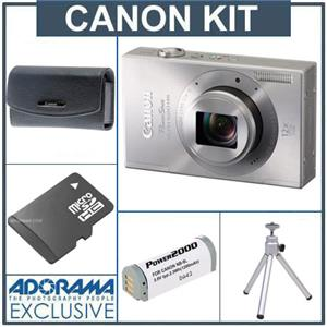 Canon PowerShot ELPH 520 HS Digital ELPH Camera Kit 6166B001 A
