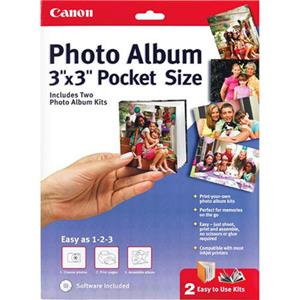 Canon 3 x 3in Pocket Size Inkjet Photo Album, Software: Picture 1 regular