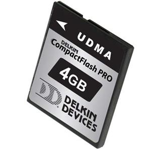 Delkin 4GB Pro UDMA Flash Memory Card: Picture 1 regular