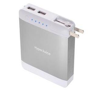 Sanho HyperJuice Plug 10,400mAh dual USB battery pack- Silver: Picture 1 regular