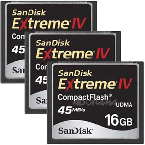 SanDisk 16 GB Extreme IV Compact Flash Memory C...: Picture 1 regular