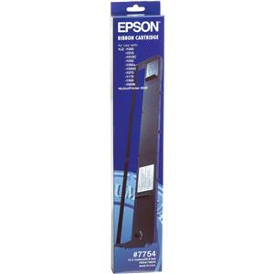 Epson 7754 Black Ribbon Cartridge, Impact Printers: Picture 1 regular