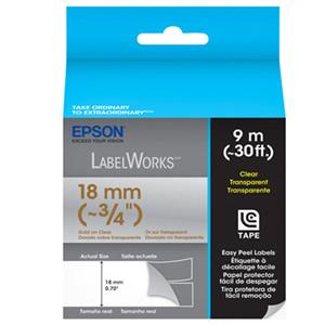 Epson LabelWorks LC-5TKN9 Clear LC Tape Cartridge: Picture 1 regular