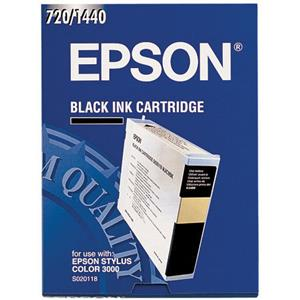 Epson Black Ink Cartridge S020118