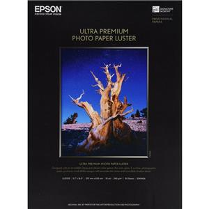 Epson Ultra Premium Luster E Photo Resin Coated Inkjet Paper S041406