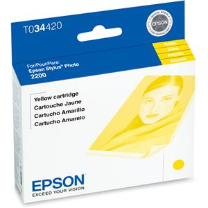 Epson Yellow Ink Cartridge T034420