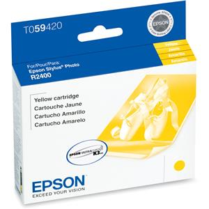Epson T059420 Yellow Cartridge, Stylus R2400: Picture 1 regular
