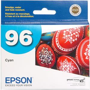 Epson T096220 UltraChrome K3 Cartridge, R2880, Cyan: Picture 1 regular