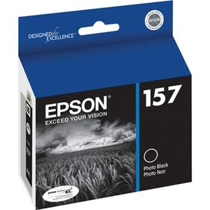 Epson T157120 157 Black Cartridge for Inkjet Printer: Picture 1 regular