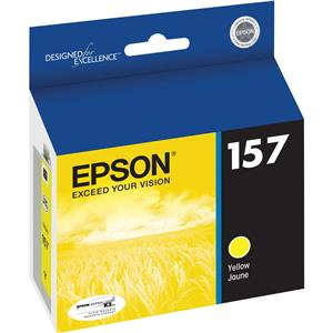 Epson T157420 157 Yellow Cartridge for InkJet Printer: Picture 1 regular