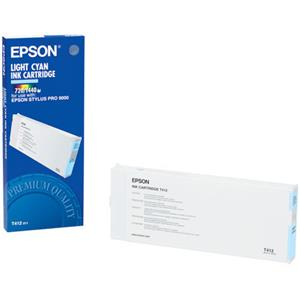 Epson T412011 Light Cyan Ink Cartridge f/Pro 9000: Picture 1 regular