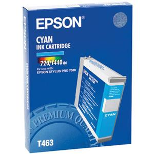 Epson T463011 Cyan Ink Cartridge for Stylus Pro 7000: Picture 1 regular