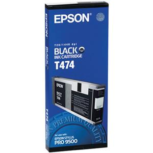 Epson Black Ink Cartridge T474011