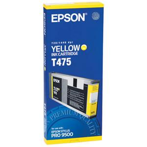 Epson Yellow Ink Cartridge T475011