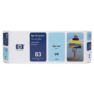 HP C4944A 83 680-ml Light Cyan UV Ink Cartridge C4944A