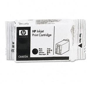 HP Extended TIJ 1.0 Black Inkjet Print Cartridge C6602A