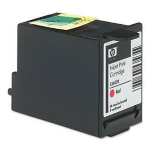 HP Extended TIJ 1.0 Red Inkjet Print Cartridge C6602R