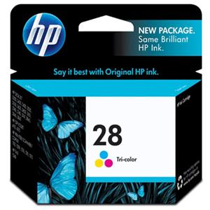 HP #28 Tri-color Ink Cartridge C8728AN
