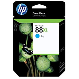 HP 88 Large Cyan Ink Cartridge C9391AN