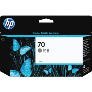 HP 70 Gray Color 130 ml Vivera Ink Cartridge C9450A