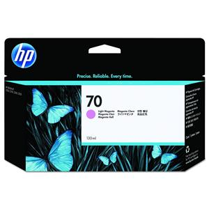 HP 70 Light Magenta Color 130 ml Vivera Ink Cartridge C9455A
