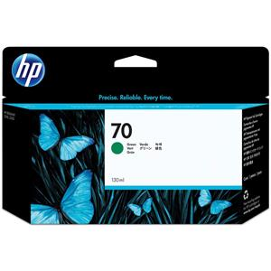 HP 70 Green Color 130 ml Vivera Ink Cartridge C9457A