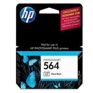 HP 564 Black Photo Ink Cartridge (CB317WN) CB317WN
