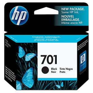 HP 701 Black Inkjet Print Cartridge CC635A