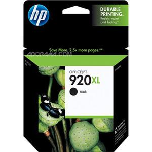 HP 920XL Black Officejet Ink Cartridge CD975AN