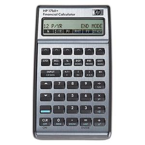HP 17BII+ Financial Business Calculator: Picture 1 regular