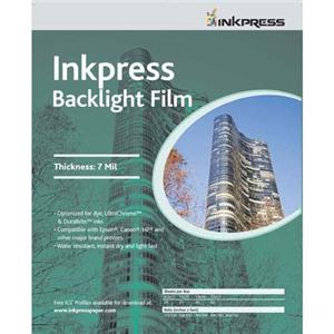 Inkpress IBF851120 Backlight Inkjet Film, 8.5x11