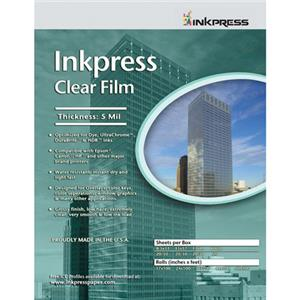 Inkpress CF172220 Clear Inkjet Film, 17x22in, 20 Sheets: Picture 1 regular