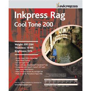 Inkpress 0RCT2001333 Rag Cool Tone Paper 13inx50ft Roll: Picture 1 regular