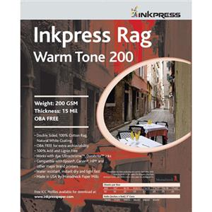 Inkpress PRWT200172520 Rag Warm Tone Paper 17x25in, 20: Picture 1 regular