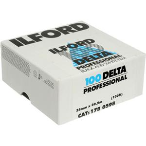 Ilford Delta Pro 100 Fine Grain B/W Film, 100Ft Roll: Picture 1 regular