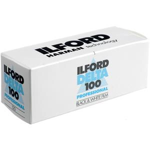 Ilford Delta Pro 100 120 Fine Grain B/W Film, 120 Size: Picture 1 regular